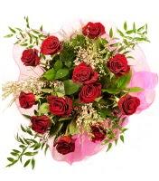 12 adet kırmızı gül buketi  Elazığ hediye çiçek yolla