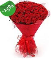 51 adet kırmızı gül buketi özel hissedenlere  Elazığ çiçek yolla , çiçek gönder , çiçekçi
