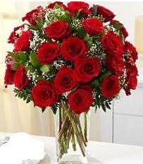 Vazo içerisinde 33 adet kırmızı gül  Elazığ çiçek satışı