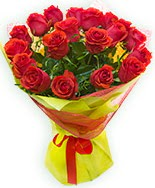 19 Adet kırmızı gül buketi  Elazığ çiçek gönderme