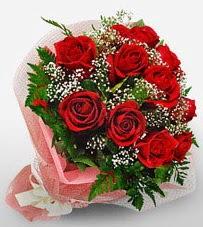 12 adet kırmızı güllerden kaliteli gül  Elazığ çiçek gönderme