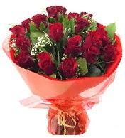 12 adet görsel bir buket tanzimi  Elazığ çiçek gönderme