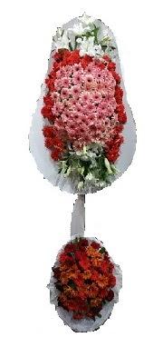 çift katlı düğün açılış sepeti  Elazığ İnternetten çiçek siparişi