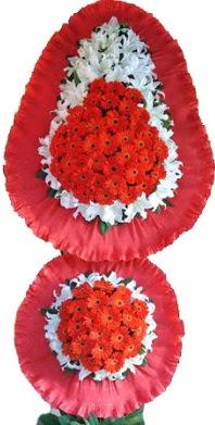 Elazığ çiçekçi telefonları  Çift katlı kaliteli düğün açılış sepeti