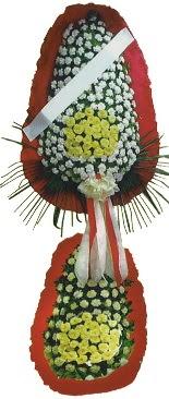 Çift katlı düğün açılış çiçeği  Elazığ çiçekçiler