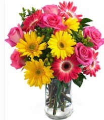 Vazoda Karışık mevsim çiçeği  Elazığ online çiçekçi , çiçek siparişi