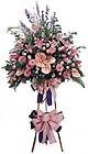 Elazığ online çiçek gönderme sipariş   Ferforje Pembe kazablanka