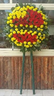 Cenaze çelengi çiçek modeli  Elazığ internetten çiçek siparişi