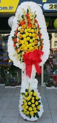 Çift katlı düğün nikah açılış çiçeği  Elazığ online çiçek gönderme sipariş
