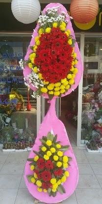 Çift katlı düğün nikah açılış çiçek modeli  Elazığ çiçek gönderme sitemiz güvenlidir
