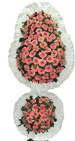 Çift katlı düğün nikah açılış çiçek modeli  Elazığ çiçekçi telefonları