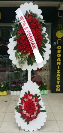 Çift katlı düğün nikah çiçeği modeli  Elazığ çiçek yolla , çiçek gönder , çiçekçi