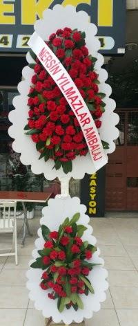 Çift katlı düğün nikah çiçeği modeli  Elazığ yurtiçi ve yurtdışı çiçek siparişi