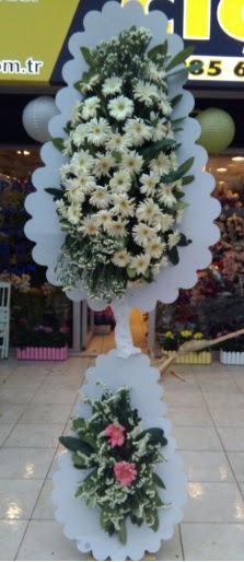 Çift katlı düğün nikah açılış çiçeği  Elazığ çiçek servisi , çiçekçi adresleri
