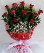 11 adet kırmızı gülden görsel çiçek  Elazığ çiçek mağazası , çiçekçi adresleri