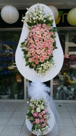 Çift katlı özel şahane sepet çiçeği  Elazığ çiçek servisi , çiçekçi adresleri