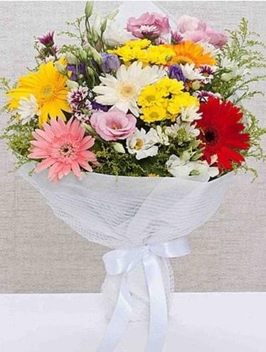 Karışık Mevsim Buketleri  Elazığ güvenli kaliteli hızlı çiçek