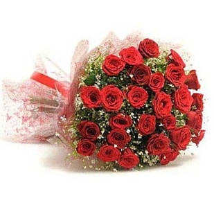 27 Adet kırmızı gül buketi  Elazığ güvenli kaliteli hızlı çiçek