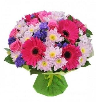 Karışık mevsim buketi mevsimsel buket  Elazığ çiçek mağazası , çiçekçi adresleri
