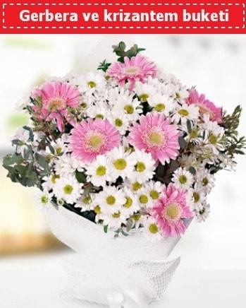 Papatya ve Gerbera Buketi  Elazığ kaliteli taze ve ucuz çiçekler