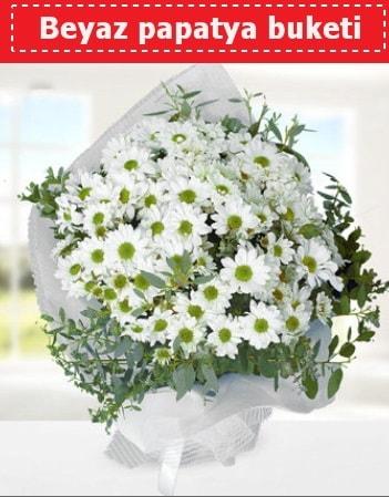 Beyaz Papatya Buketi  Elazığ hediye çiçek yolla