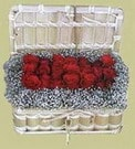 Elazığ çiçek , çiçekçi , çiçekçilik  Sandikta 11 adet güller - sevdiklerinize en ideal seçim
